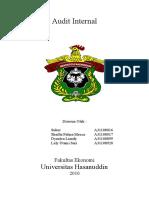 49583816 Makalah Jadi Audit Internal