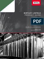 Birtley Compressed Lintels Brochure