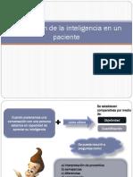 Exploración de La Inteligencia en Un Paciente