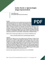 2017 - Silva - Juventudes Rurais e Agroecplogia - Dialogo Imprescindivel