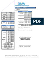 Tabela SA Vidros