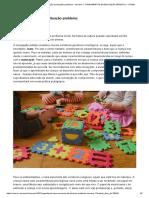 Texto-base 2 - Resolução Da Situação-problema - Semana 1_ FUNDAMENTOS DA EDUCAÇÃO INFANTIL II - SFI002