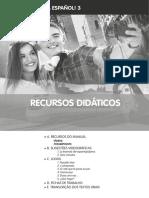 Espanhol - 3º Ciclo - Fichas de Trabalho