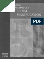 Clinical Biomechanics of Spinal - Desconocido