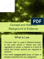 Concept and Historical Background of Evidence.doc