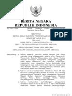 Perka BNPB 8-2011_Standarisasi Data Kebencanaan