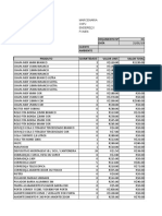 Tabela Orçamento Excell Simples