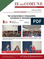 Notizie Dal Comune di Borgomanero del 28 Gennaio 2019 - Speciale Giornata della Memoria