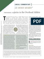 Shoulder Injuries in the Overhead Athlete, WILK Et AL, Jospt.2009.2929