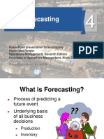 operation management -Forecasting