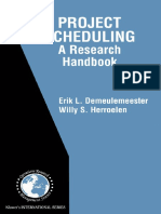 [International Series in Operations Research & Management Science] Erik Leuven Demeulemeester, Willy S. Herroelen - Project Scheduling_ a Research Handbook (2002, Springer)