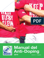 Manual del Antidoping - World Rugby, 2014