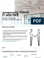 Simplifying Hybrid IT With HPE - 01-2019
