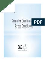 Complex Stress Condition CAE Fatigue