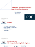 NVMe Developer Days – December 2018 – the NVMe Managemant Interface NVMe MI – Overview and New Developments