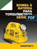 XCTW Cordless Torque Wrench Pump Tech Brochure Pt-br