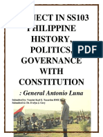 Project in Ss103 Philippine History Antonio Luna[1]