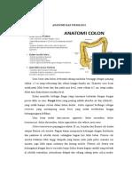 Anatomi Dan Fisiologi Colon