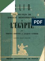 Drioton, E; Vandier, J - Les Peuples de l'Orient Méditerranéen II L'Egypte (1962)