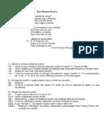 Testes de Fernando Pessoa