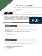 Curriculum - José Francisco Orellana García
