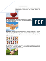 10 Valores Morales Ilustrado