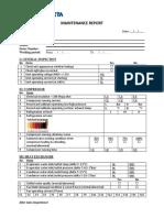 Climaveneta mainternance check list