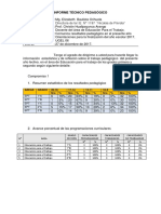 Informe Técnico Pedagógico Ept