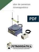 Agitador de Peneiras Elétromagnético