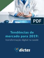 Tendencias Do Mercado de Saúde Para 2019