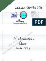 Pembahasan Soal SBMPTN 2018 Matematika Dasar Kode 527 [pak-anang.blogspot.com].pdf