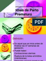11. Síntomas de Parto Prematuro
