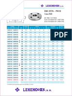 Bridas Iso Din 276 Pn-10 y Din 2502 Pn16