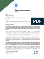 Carta Andrés Rugeles - Secretario de Transparencia