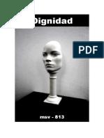(msv-813) Dignidad