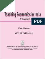 Teaching Economics in India