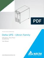 Manual UPS HPH 20-30-40kVA en Us
