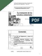 5. Evaluación de Los Estudios Ambientales