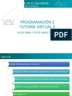 Tutoria 3 PRN215 -Ciclo I 2018