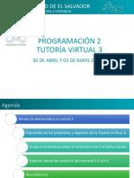 Tutoria 3 PRN215 -Ciclo I 2018