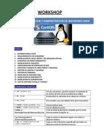 Implementacion y administracion de Servidores Linux. Workshop