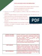 PRINCIPIOS Y POSTULADOS BÁSICOS DEL NEOLIBERALISMO