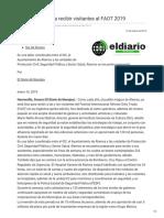16-01-2019 - Listo Álamos para recibir visitantes al FAOT 2019 -diariodenavojoa.com