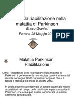 Malattia Parkinson Riabilitazione