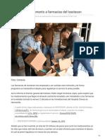 16-01-2019 -Surten de Medicamento a Farmacias Del Isssteson -Elsoldehermosillo.com.Mx