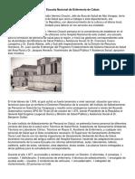 Historia Enfermeria Coban
