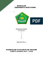 MAKALAH Sejarah Berdirinya Budi Utomo.docx