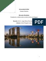 Tercer Parcial Singapur