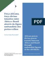 Força africana
