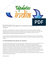 Updates India_ Model Republic Day Speech for Teachers (in English) on 26 January